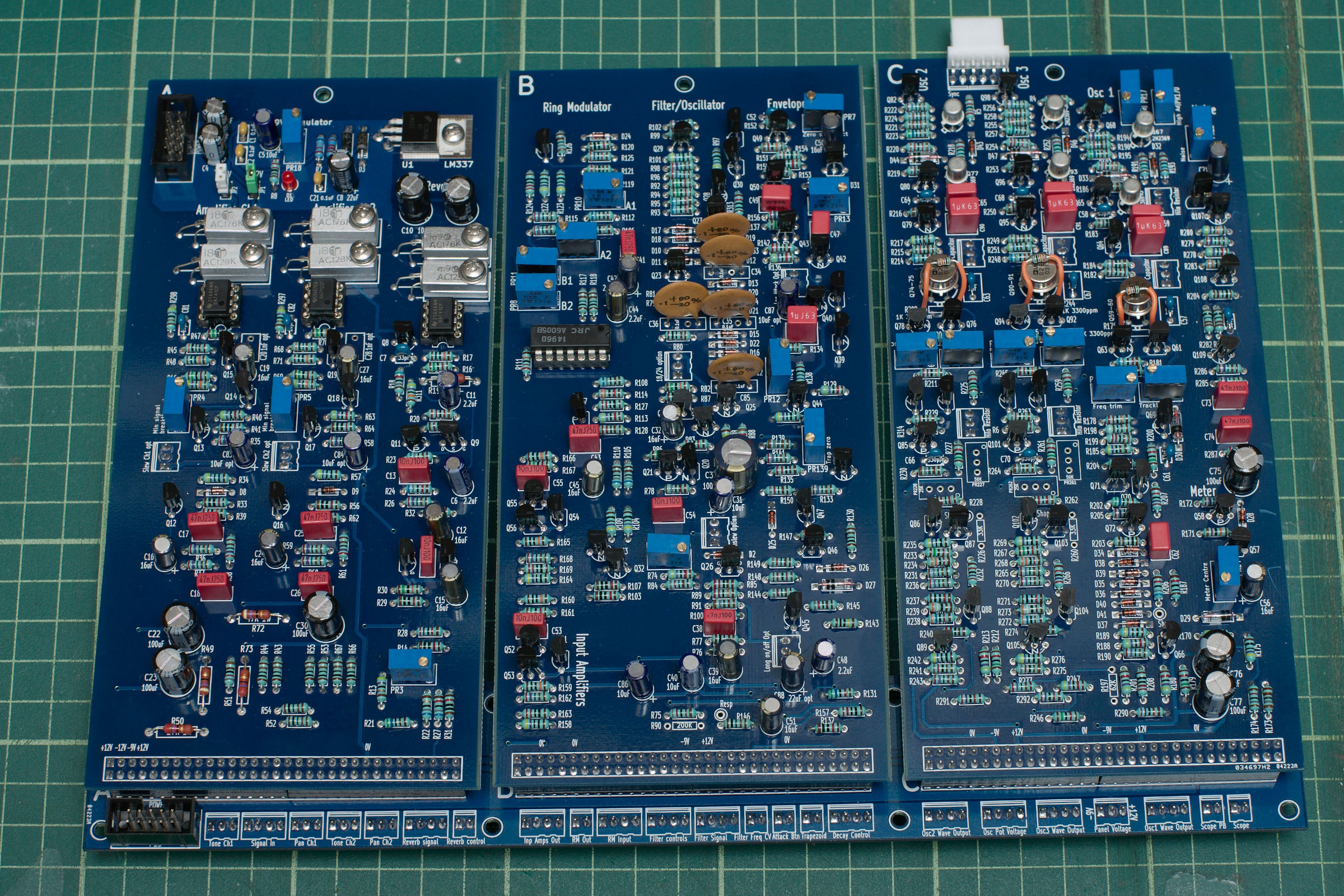 The New Pcbs Sussex Vcs Power Supply Regulator Mini 9v 075a By Transistor Electronic Main Boards